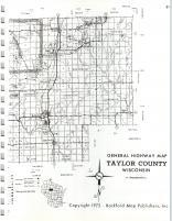 Map Image 029, Taylor County 1972
